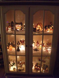 holiday idea displaying grandma's village