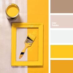 best screen unique color palette yellow diy work : All of us know how important color is design. However, with a lot of the current design trends, creating interesting and cohesive color palettes is be. Colour Pallete, Color Combos, Color Palettes, Yellow Color Schemes, Retro Color Palette, Paint Combinations, Color Concept, Beige Paint Colors, Colour Gray