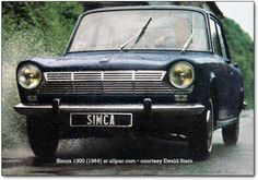simca 1300...we had a simca at one time