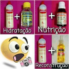 Hidratacao . Nutricao. Reconstrucao Curled Hairstyles, Cool Hairstyles, Natural Hair Care, Natural Hair Styles, Diy Beauty, Beauty Hacks, Estilo Kylie Jenner, Curly Hair Routine, Love Your Hair