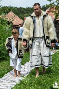 Romanian Traditional Costume from Salaj Romania Folk Costume . Folk Costume, Costumes, Wooly Bully, Romania Travel, Art Populaire, Beautiful Men Faces, She Wolf, Ukraine, People Of The World
