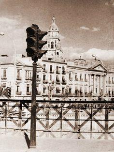 Puente Viejo semaforo años 50