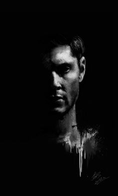 Dean Winchester fanart - artist unknown (if this is yours please leave a comment so I can give credit)