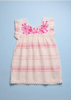 MEXICAN DRESS/BLOUSE - ROSE