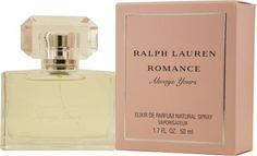 Romance Always Yours By Ralph Lauren For Women Elixir Eau De Parfum Spray. This is my church, funeral, meeting the parents, interview smell. Basically I put it on whenever I need to smell like a real adult. It's sophisticated, powdery, and delicate but with real staying power.