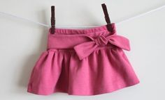 Skirt for a little girl DIY- Como hacer una falda para niña
