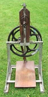First wheel made by Patrick Jennings