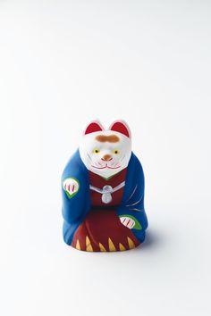How To Make Clay, Mascot Design, Clay Figurine, Making Ideas, Folk, Pottery, Kawaii, Japanese, Ceramics