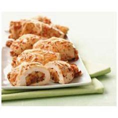 Bruschetta 'n Cheese Stuffed-Chicken Breasts