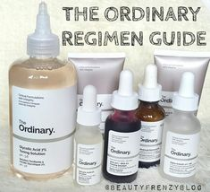 The Ordinary Skincare Regimen Guide