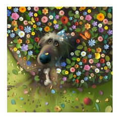 Treasure Hunt art print for sale by digital artist Stephen Hanson buy Stephen Hanson Toby The Dog Prints from Arthouse Gallery Art And Illustration, Illustrations, Hunting Art, Buy Art Online, Dog Paintings, Whimsical Art, Art Auction, Dog Art, Animal Drawings