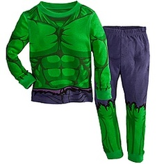 Deluxe Hulk PJ Pal for Boys Pretty sure I'm going to get some of those huge HULK fists and voila, Eamon's halloween costume.