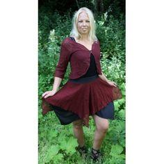 Brown hippie skirt Hippie Skirts, High Low, Fairy, Brown, How To Wear, Dresses, Fashion, Vestidos, Moda