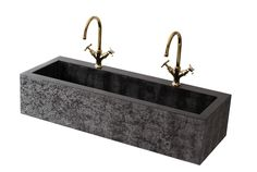 PHOENIX – Flower patterned, deep double basin with standard drain. Produced in custom sizes and broad selection of patterns. Size: L:110cm W:40cm H:25cm