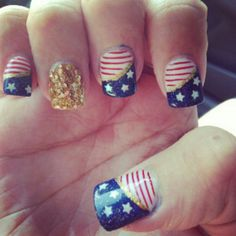 American nail beauty
