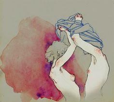 Área Visual - Blog de Arte y Diseño: Los dibujos e ilustraciones de Adara Sánchez Anguiano