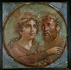 Fresco of Hercules and Omphale - at the ancient city of Herculaneum, Italy Ancient Rome, Ancient Greece, Ancient Art, Ancient History, Art History, Pompeii Italy, Pompeii And Herculaneum, Pompeii Ruins, Tempera