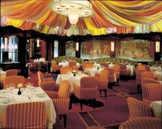 Le Cirque Restaurant in Las Vegas, Nevada. All-time favorite dining experience.