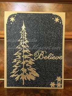 I did not make many Parchment Christmas cards this year, so this post will be short and sweet. Christmas Cards 2018, Xmas Cards, Christmas Trees, Holiday Cards, Christmas Holidays, Christmas Decorations, Some Cards, Heartfelt Creations, Tim Holtz