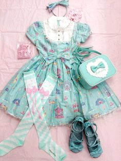Lolita Fashion, Angelic Pretty Utsunomiya: [x] [x] [x] [x] Harajuku Fashion, Kawaii Fashion, Lolita Fashion, Cute Fashion, Fashion Outfits, Mode Lolita, Estilo Lolita, Lolita Cosplay, Mein Style