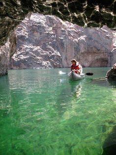 black canyon water trail las vegas nevada lake mead hoover dam colorado river