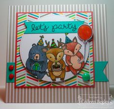 Let's Party by teal29 - Cards and Paper Crafts at Splitcoaststampers