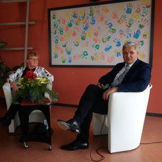 """Ich begleite meinen Kollegen Hubert Hüppe zur Lebenshilfe Leinefelde-Worbis, wo er Gast der Aktion """"Wofür sich zu leben lohnt"""" ist. Dank an Gisela Reinhardt für dieses konsequente In-den-Blick-Rücken des Zusammenlebens mit Menschen mit Handicap."""