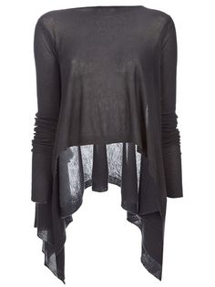 Cashmere jumper from Rick Owens
