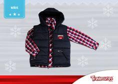 Colección fin de año 2015 - Chaleco y camisa niño. Más información en www.travesuras.com.co