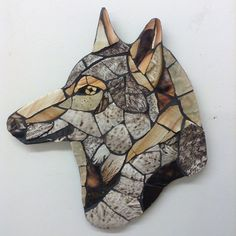 Sticking with the wildlife theme. Mosaic Crafts, Mosaic Projects, Mosaic Ideas, Mosaic Designs, Mosaic Art, Mosaic Glass, Stained Glass, Projects To Try, Advent Ideas