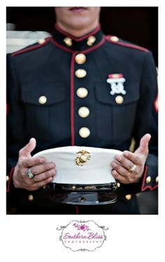 the Marines. my daddy was a Marine so they will always hold a special place in my heart Once A Marine, Marine Mom, Us Marine Corps, Marine Boyfriend, The Few The Proud, Rotc, Military Love, Us Marines, Men In Uniform