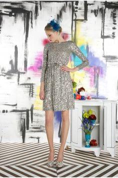 Alice + Olivia - Ritchie Embellished Dress