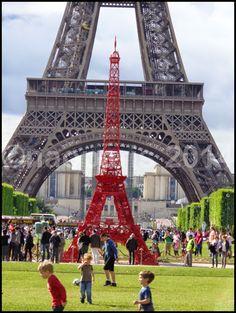 【PARIS】【エッフェル塔 La Tour Eiffel】   パリ6区サンジェルマン村