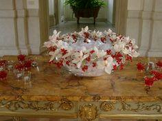centerpieces | orchids | floral arrangement  by Tulipani bianchi