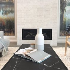"""Amber Tiles Yallah on Instagram: """"Our subway stone white tile was selected by the talented Casey from @caseydorlingdesign for the new @gnwilliamscustomhomes office. Has…"""" White Tiles, News Design, Amber, Indoor, Stone, Studio, Porcelain, Beauty, Instagram"""
