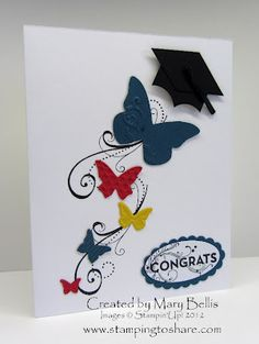 Unique grad card.