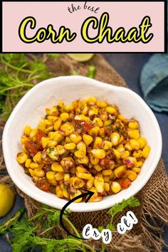 Indian Food Recipes, Asian Recipes, Ethnic Recipes, Appetizer Recipes, Appetizers, Buttered Corn, Chaat, Middle Eastern Recipes, Savory Snacks