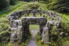 Druid's temple Photo by George Hodan -- National Geographic Your Shot. Druids Temple is a folly created by William Danby in 1820 in North Yorkshire, England. North Yorkshire, Yorkshire England, Yorkshire Dales, Ancient Ruins, Ancient Egypt, Beautiful Places, World, Pictures, National Geographic