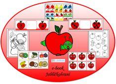 Ovoce - jablíčka Books, Stuff To Buy, Libros, Book, Book Illustrations, Libri