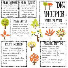 Bible Journaling Supplies for beginners. Dig Deeper - Prayer.