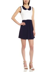 Molly bracken - rtro lili - robe - cocktail - femme - bleu (marine/navy blue) - FR : 40 (Taille Fabricant : 2): Amazon.fr: Vêtements et accessoires