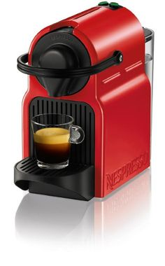9. Nespresso Inissia Espresso Maker, Red