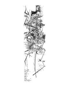 Now famous, this set of 28 drawings was created by Daniel Libeskind during the years in which he served as the head of the Architecture Department at Cranbrook Academy of Art in Bloomfield Hills, Michigan.