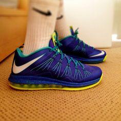 Nike Lebron 10 Low Sprite #nike #lebron #sneakers