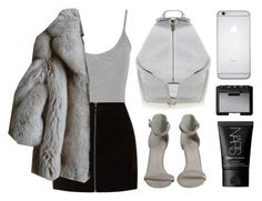 """""""Fur B***h"""" by baludna ❤ liked on Polyvore featuring Rebecca Minkoff, WearAll and NARS Cosmetics"""