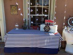 Nautical baptism table