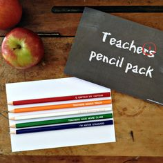 Teacher's pencil pack Kraft Boxes, Appreciation, Stationery, Packing, Pencil, Teacher, Education, How To Make, Professor