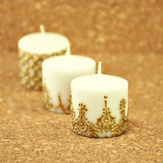 Moroccan themed candles