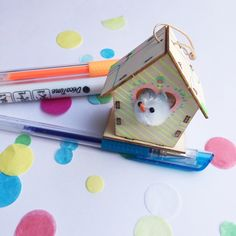 mini DIY huisje workshop pakketje