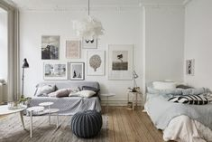 Natural Style in a Small Swedish Apartment 1